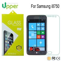 China suppliers New design tempered glass screen protector for samsung i8750
