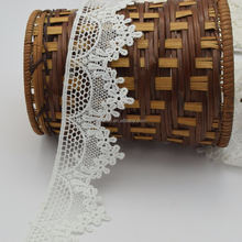 6cm soft Milk Silk Lace Trim Size trim chemical lace
