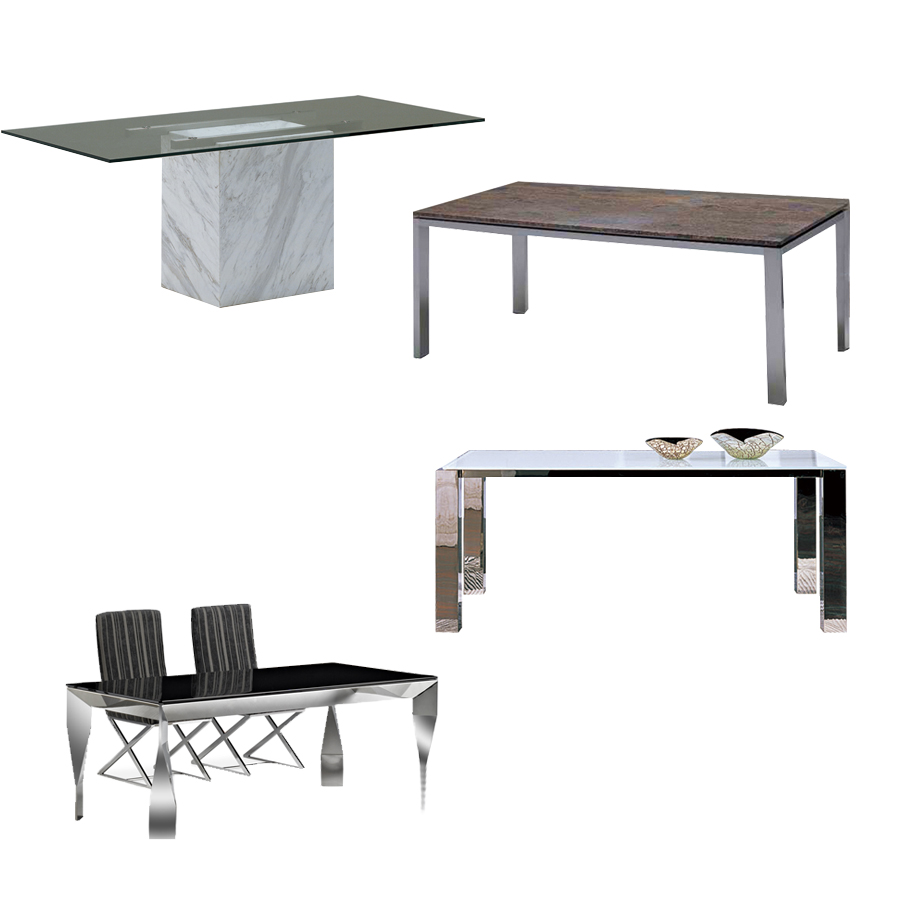 marble top stainless steel dining room table buy dining