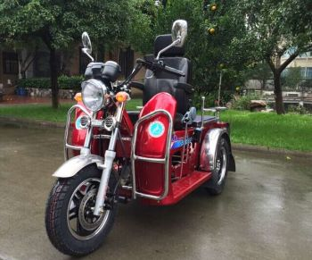 MP3 70cc 110cc Disabled Vehicle Handicapped Tricycle for sale with front mudguard