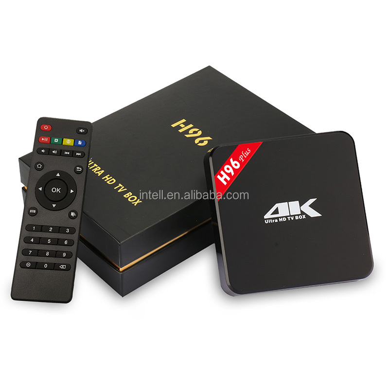 Amlogic S905 2GB DDR3 RAM 16GB EMMC ROM H96 plus android 5.1 tv box 1080 4k media player with 4 USB Interface