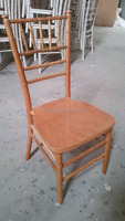 Natural Color Beech Wooden Ballroom Chiavari Chair for sale
