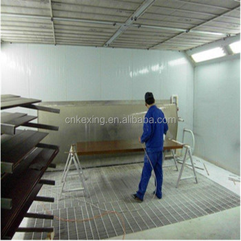 KX-4100B furniture spray booth