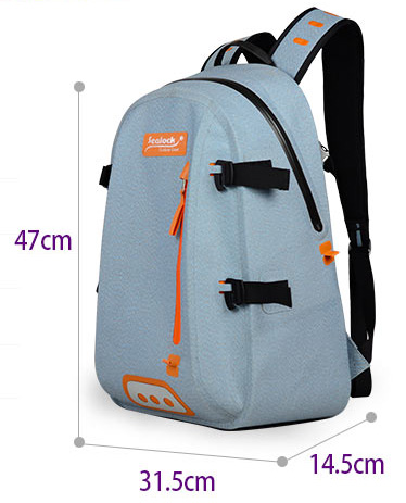 IPX7 waterproof day trips Camping Hiking shoulder outdoor sport backpack for men large for leisure outdoor activities