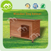 honey red wooden handmade dog kennel,dog house dog cage pet house
