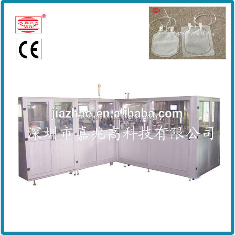 Shenzhen high quality medical urine bag making machinery with factory price
