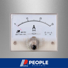 PEOPLE 85C1-A 30A 64mm*56mm Analog panel meter DC Ammeter, current meter, ampere meter