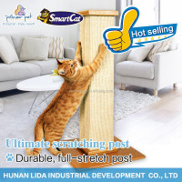 Cat furniture cat scratching post Pet wooden products with sisal