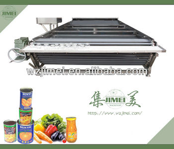 water bath low temperature continuous sterilization machine for canned food
