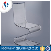 Eco-Friendly Plastic Crystal Furniture Table Wedding Clear Acrylic Z Chair