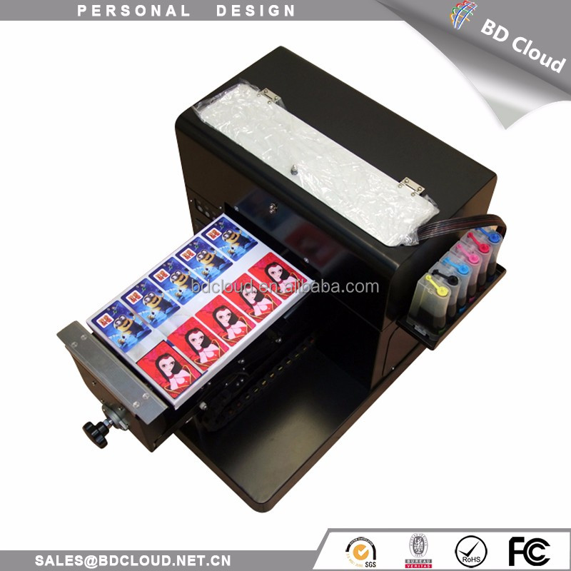 Digital t shirt flatbed printer brand A4 size printing machine for sale