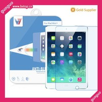 High transparent for Ipad mini 3 glass screen protector blu-ray