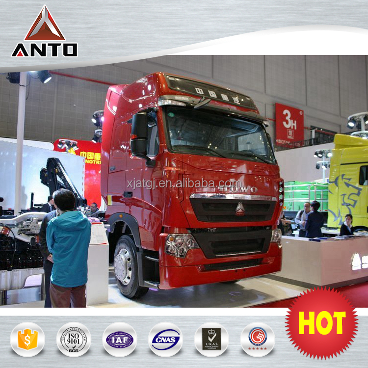 HOWO trailer truck with 440hp 6x4 40ton heavy duty truck