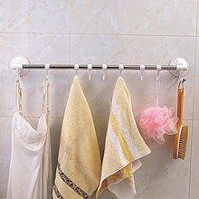 Online shopping stainless steel adhesive bath suction cup single towel bar