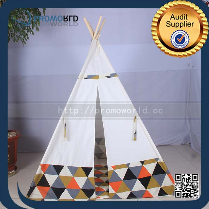 Deluxe Canvas Tent with Window Tiebacks and Carry Case teepee indian tents