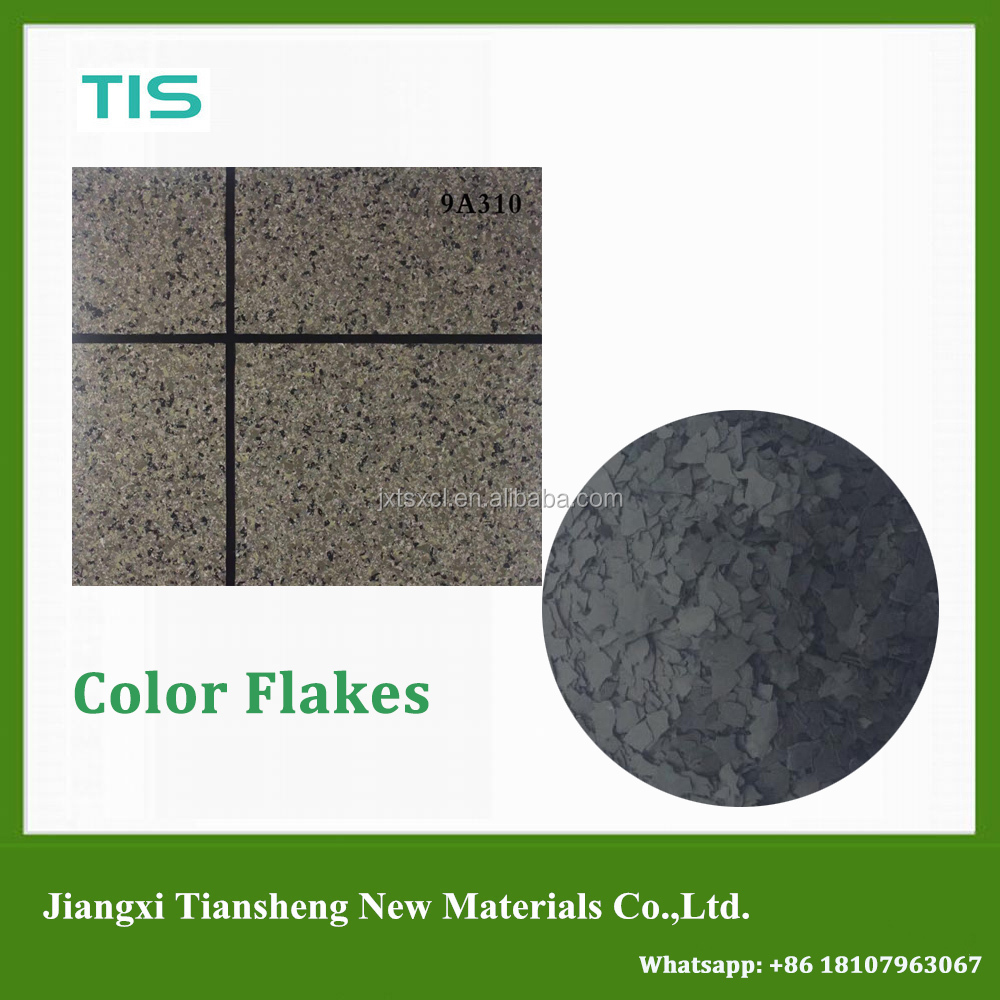 Granite flakes spray paint for exterior building decoration 9H100