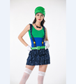 Block Jumping Plumber Costume L15334