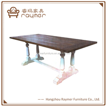 Antique home furniture eating table for 8 persons dining room tables