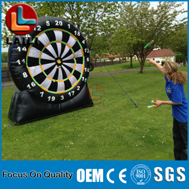 Fun Sports Meeting /Sport Games PVC Inflatable Darts/ Inflatable Foot Darts