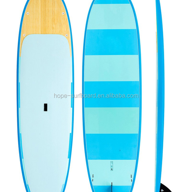 2017 new fashion bamboo stand up paddle board/ SUP paddle board/ cheap paddle board
