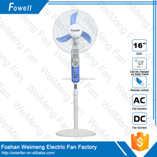 Mini Portable Home And Office Hot Sell Solar DC Standing Fan