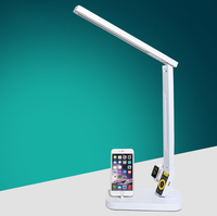 2016 Hot sales new generation iPhone/Apple watch docking LED desk light with stepless dimming/USB port