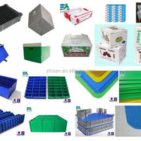 China Corrugated Plastic Auto Parts Box
