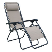 Most popular folding steel sling deck chair