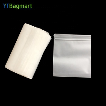 Eco Friendly Custom Printed PLA 100% Compostable Biodegradable Plastic Poly Zip Lock Bags