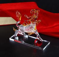 Home Decoration Colorful Crystal Animal Figurines