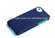 Dual color Silicone / Plastic hybrid case for iPhone 5, for iPhone 5 fashion case