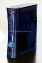 For Xbox 360 Ocean Blue XCM Full Housing Case Faceplate Shell Replacement
