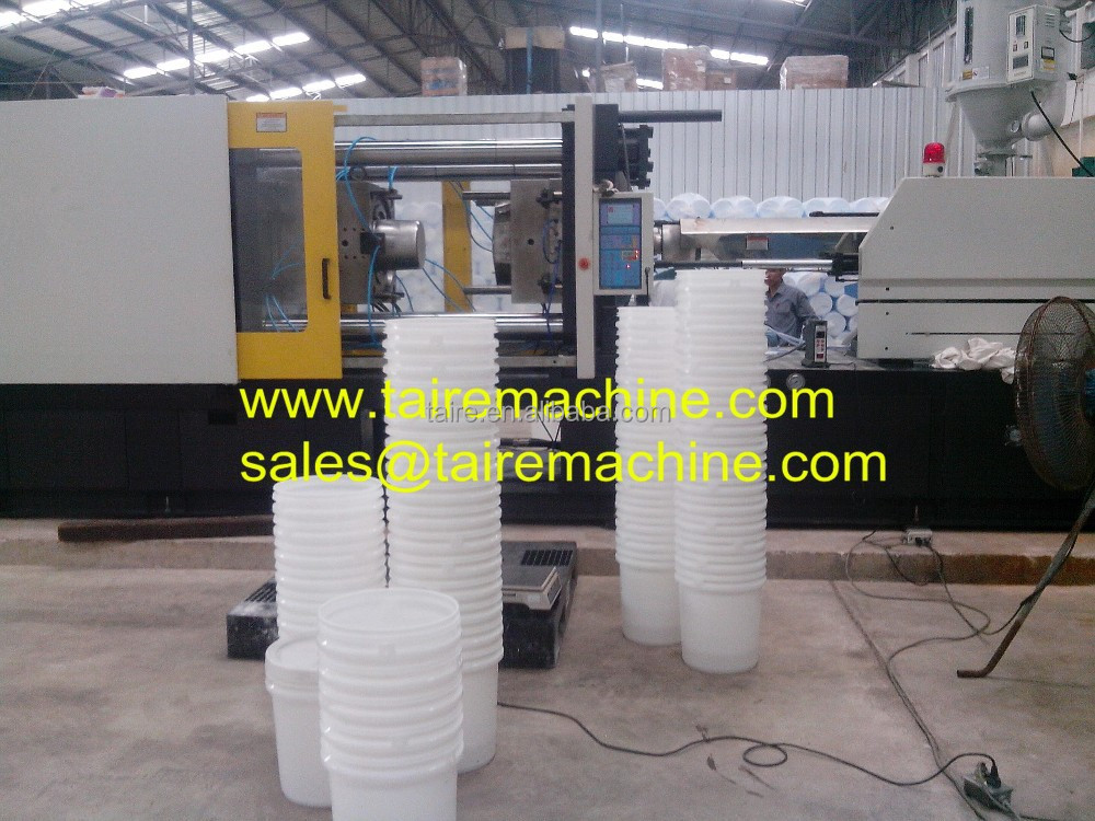 plastic bucket injection molding machine
