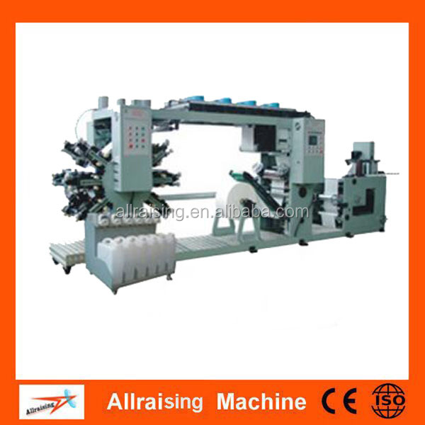Satellite type 6 color central drum CI flexographic printing machinery