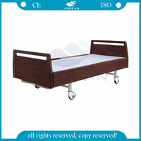 AG-BYS117 CE ISO 2 function manual adjustable hospital nursing home beds