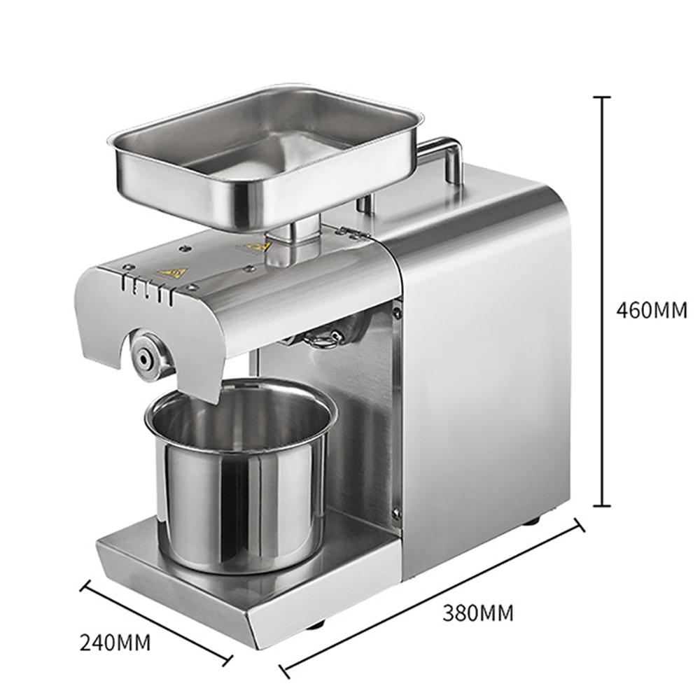 mini cold Sunflower Seed Press Oil Machine Small Mini Industrial Oil Pressers for sale