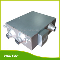 Exhaust air and fresh air two individual fan Slim Ceiling Type Heat&Energy Recovery Ventilator