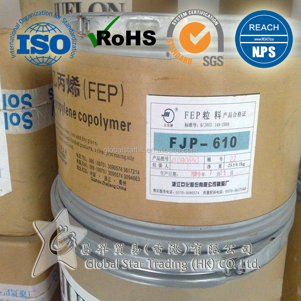 Teflon, FEP Emulsion, 100% Virgin FEP Plastic Raw Material