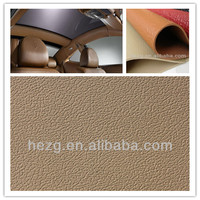 Faux Leather Used For Car Headrest/Pillow, Seat Cover etc.