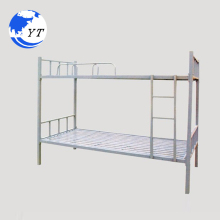 Modern Home Specific Use Iron double cheap metal double deck bed