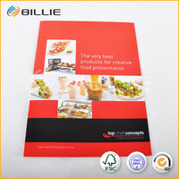 Colorful Food Magazines Printing