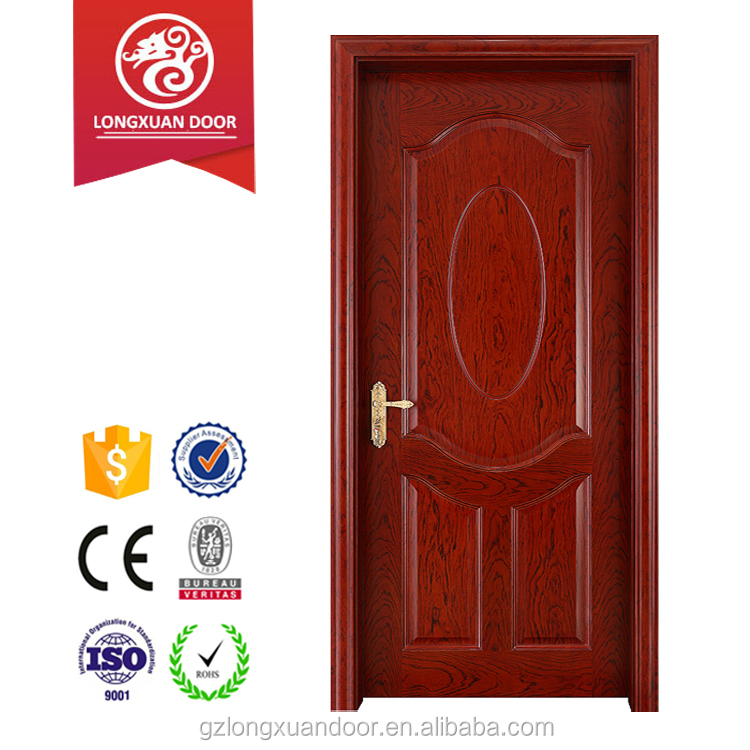 Lower cost and durable model of wooden door for interior room decoration