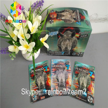Rhino 7 Chinese Sexual Enhancement Pills Packaging 3D Card / Wholesale Black Mamba Blister Packet