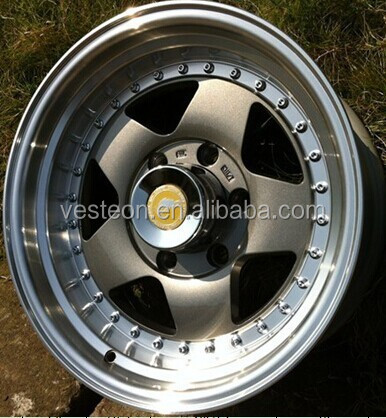 Perfect outer finishing machine big lip alloy wheel rims