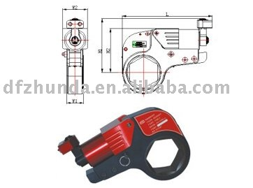 hydraulic torque wrench Hex. type hand tools
