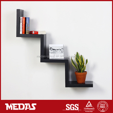 wall mount wood shelf