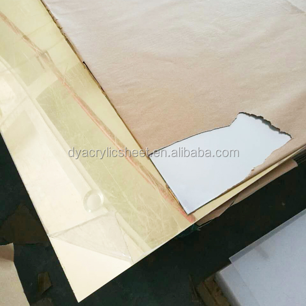 Acrylic invitation mirror strips factory price