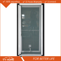 Australia standard AS2047 aluminum awning windows with built in blinds