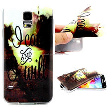 For Samsung Galaxy S5 I9600 TPU Case back cover, soft case for Samsung i9600