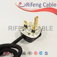 RF-45 British plug with rubber cable
